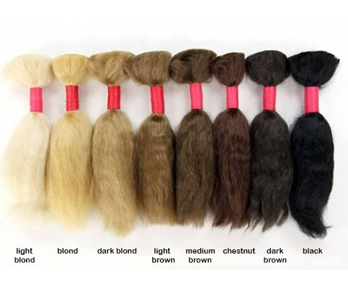 Mohair - Straight - Black