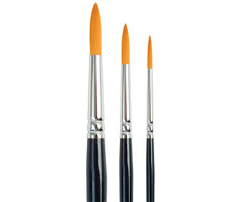 Brushes - Dala Gold 756 Round Size 0