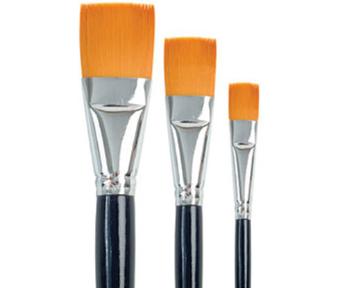 Brushes - Dala Gold 759 Flat Size 20