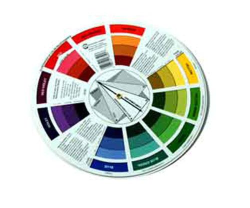Paint Mix Colour Wheel