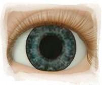 Real Eyes 20mm Newborn Dark Blue