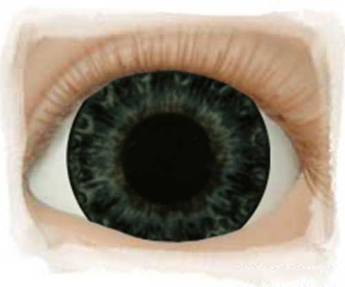 Real Eyes 20mm Newborn Darling Blue LE