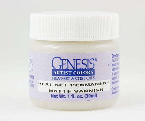 Genesis Heat Set Permanent Matte Varnish (1oz)