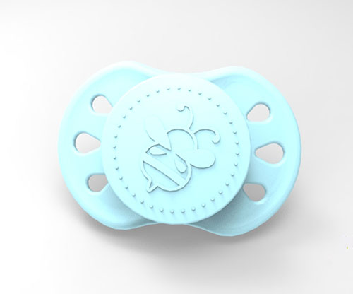 Sweetdreams Pacifier - Sky Blue with Magnet