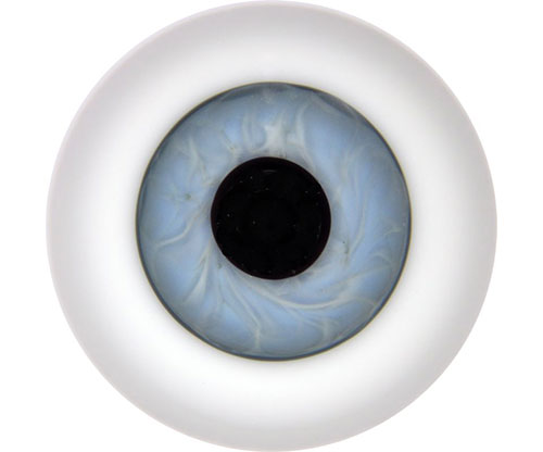 Lauscha Crystal Eyes 24mm Ice Blue