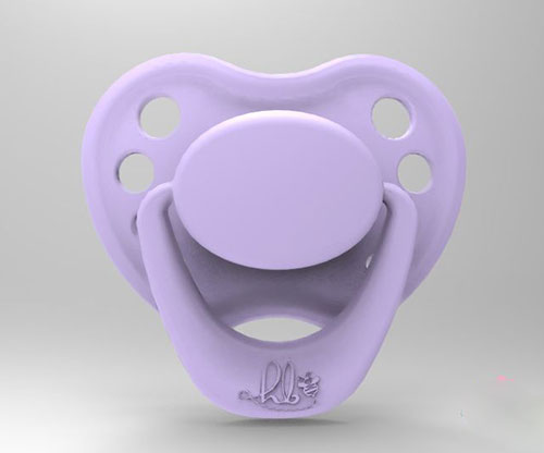 Sweetheart Pacifier - Lilly with Magnet