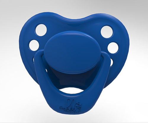 Sweetheart Pacifier - Little Boy Blue with Magnet