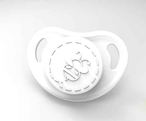 Cutiepie Micro Preemie Pacifier - Snow White with Magnet