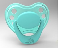 Sweetheart Pacifier - Miss Cupcake with Magnet
