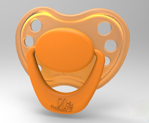 Sweetheart Pacifier - Miss Orange Blossom with Magnet