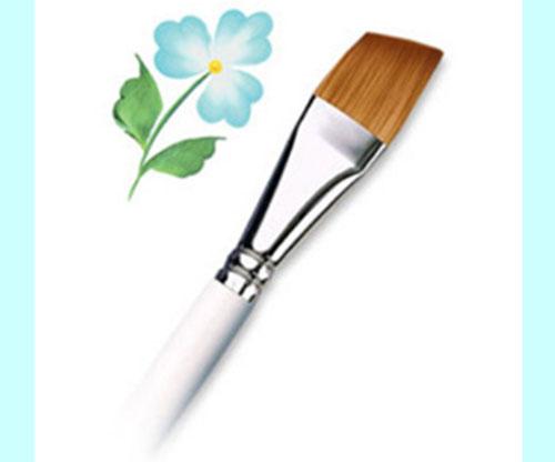 """Brushes - Royal Golden Taklon Angular - Size  - 1/8"""""""