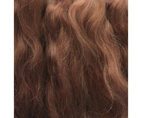 Pixie Kissed Mohair - Wavy - Chestnut Auburn