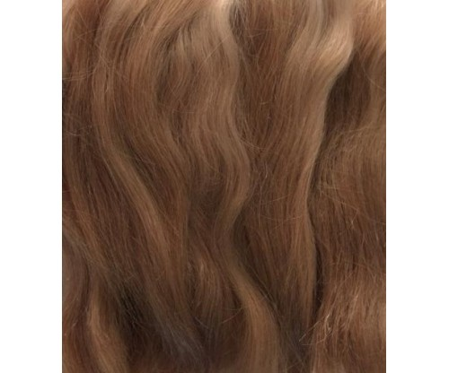 Pixie Kissed Mohair - Straight - Dark Golden Blonde