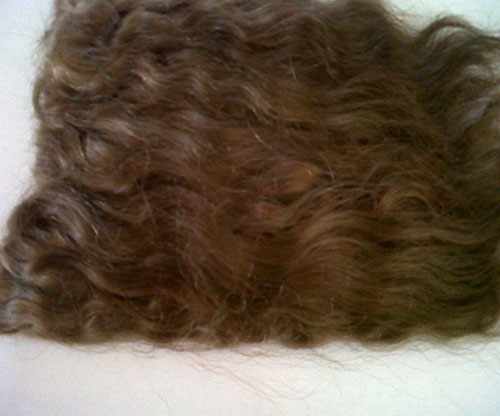 Pixie Kissed Mohair - Straight - Light Brown