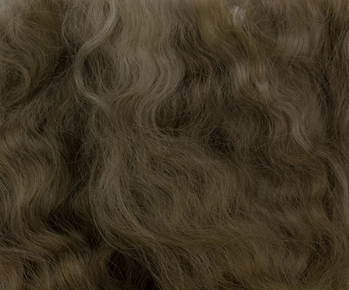 Pixie Kissed Mohair - Slightly Wavy - Baby Brown